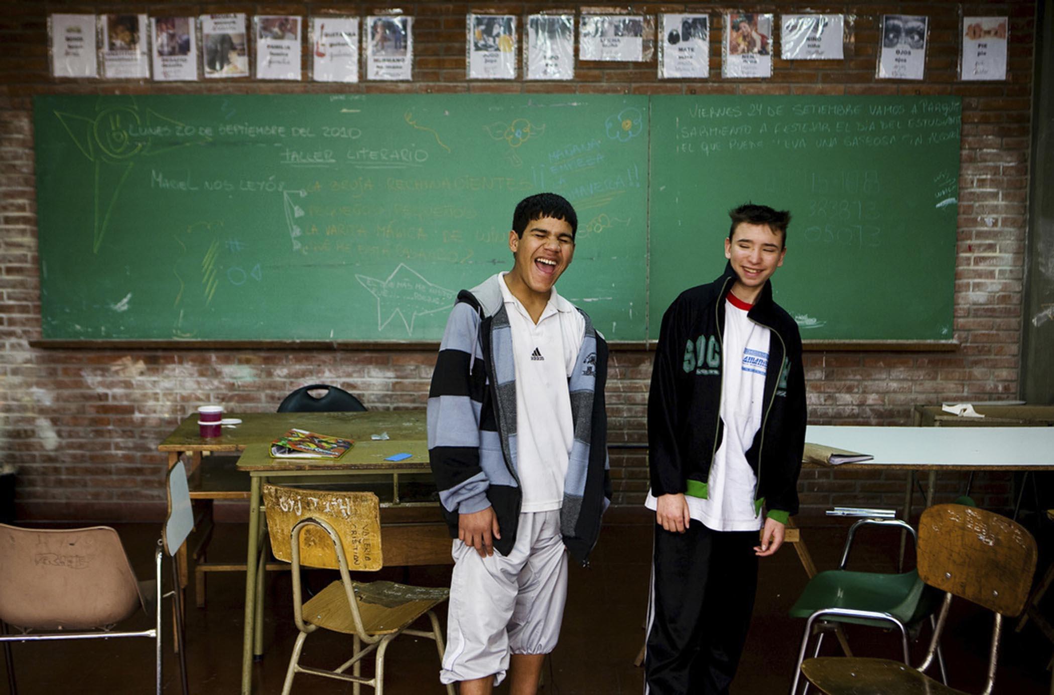 Centro Educativo Isauro Arancibia para ni?os y jovenes en situacion de calle o vulnerabilidad.