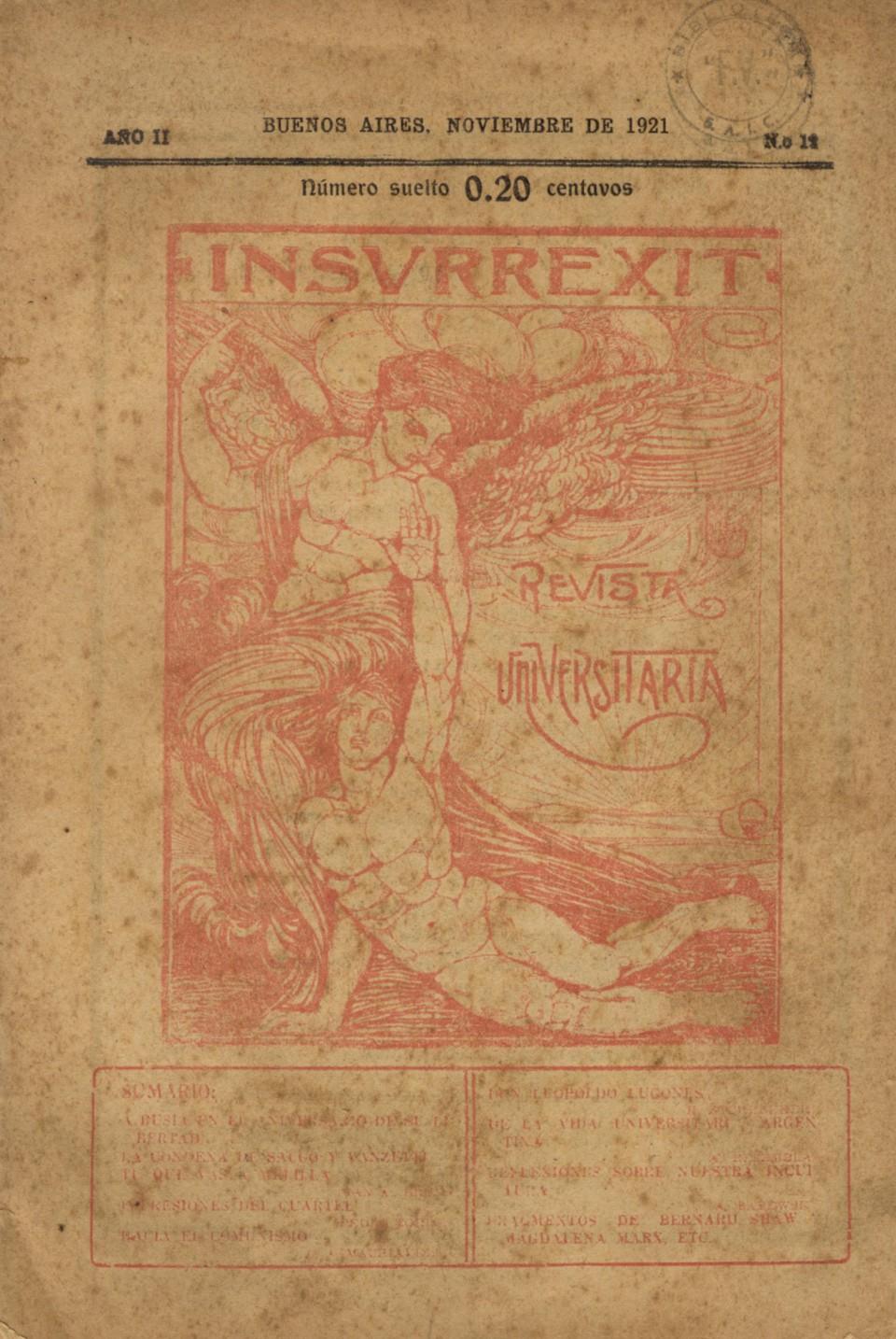 Insurrexit año2 nº12 - Tapa (12-1921)